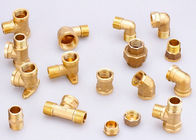 Vertical CNC Rotary Transfer Machine Tools VR-740 6 Stations , 5 Spindles up to10 Spindles for Brass Fittings